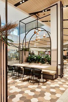 Corporate Interior Design, Restaurant Interior Design, Commercial Interior Design, Shop Interior Design, Commercial Interiors, Corporate Interiors, Modern Restaurant, Interior Detailing, Mall Design