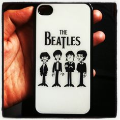 My new iphone case..The Beatles...! Love it..!❤ A gift from my brother..
