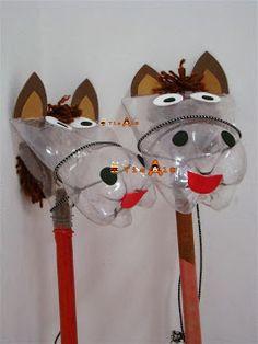 Klinkers in Beeld: Paard van petfles (Met beschrijving)