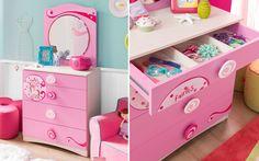#Princess #pembe #dekorasyon #pinkroom #decoration #cocukodasi #oda #room #pembeoda #sifonyer #makyajmasasi #ayna