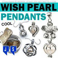 ►► WISH PEARL PENDANT KITS ►► Jewelry Secrets