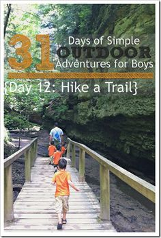 Tips and Tricks for Hiking with Kids {Simple Outdoor Adventures for Boys} || 4tunate.net