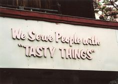 Just a bit suspicious about what exactly those 'tasty things' are... Japan