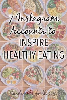 Do you need something new to inspire healthy eating? Try Instagram! Here's 7 accounts to follow today for healthy recipe ideas, food inspiration, and a healthier lifestyle.