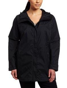 Columbia Womens Plus Size Ramble Rain Jacket $99.95 (13% OFF)