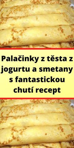 Luxury Food, Bon Appetit, Food Videos, Sweet Recipes, Menu, Sweets, Chicken, Breakfast, Pancakes