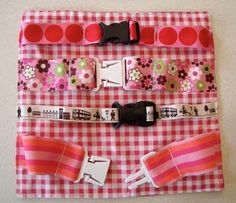 mousehouse: My busy book project  Clips, buckles and fasteners