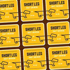 Beer / Short Leg Coaster