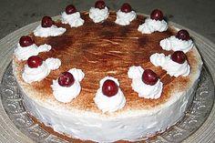 Weihnachtliche Kirsch - Mascarpone - Torte Winter Torte, Cheesecake, Torte Recipe, Tiramisu, Food And Drink, Xmas, Ethnic Recipes, Desserts, Advent
