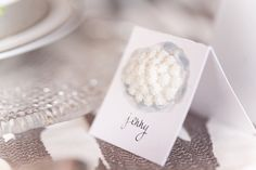 White and Silver Name Tags