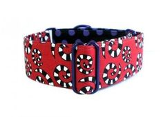 Martingale Collar: Ode to Tim Burton by TheEclecticHound for $28.00