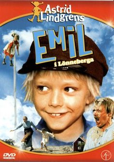 Emil - en dan had hij weer kattenkwaad uitgehaald en moest hij in het schuurtje..... ach... jeugdsentiment!!