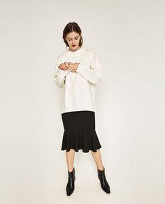 Image 1 of SOFT OVERSIZED SWEATER from Zara