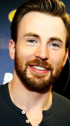 I do love the bit of ginger in his beard. That's high praise because I'm not a big fan of ginger men. :)