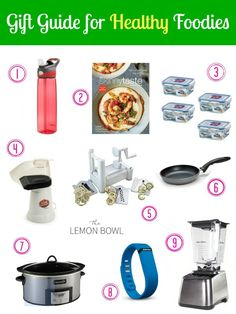 Gift Guide for Healthy Foodies {Blendtec Giveaway!}