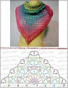 Moje Hand Made: Chusta i Creation Point de Croix nr post was discovered by esti brustein discover and save your own posts on unirazi salvabrani – ArtofitDiscover thousands of images about Crochet shawl pattern diagramRavelry: Calypso pattern Poncho Crochet, Col Crochet, Crochet Shawl Diagram, Poncho Knitting Patterns, Crochet Triangle, Crochet Shawls And Wraps, Shawl Patterns, Crochet Chart, Crochet Scarves