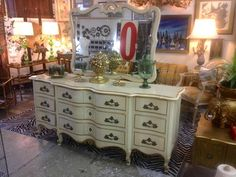 Gorgeous and Especially Grand French Provincial Dresser by Kent Coffey - $600