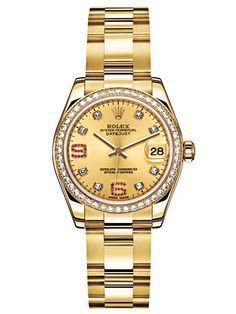 Rolex - I've been wanting either a gold Rolex or a gold Cartier.  I should have gotten the Rolex when gold was down.