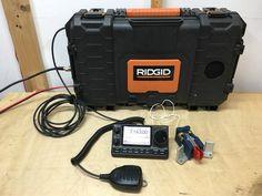 IMG_1280 Diy Electronics, Electronics Projects, Portable Ham Radio, Ham Radio Equipment, Marine Grade Plywood, Computer Fan, Pelican Case, Ham Radio Antenna, Go Kit