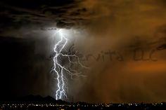 Arizona Dust and Lightning