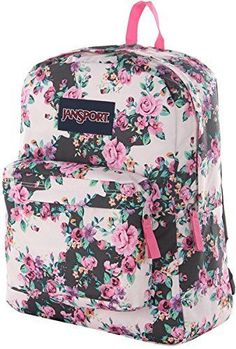 44a4673389c8 JanSport Classic SuperBreak Backpack Multi Grey Floral Flouris -- More info  could be found at the image url. Men s Accessories
