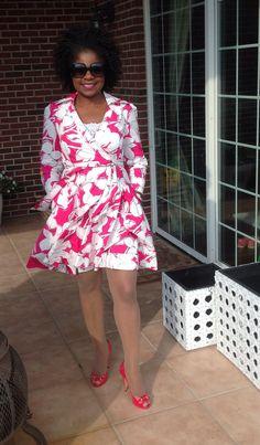 DVF Jadrian wrap dress