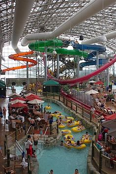 The Pump House Indoor Waterpark in Jay, Vermont