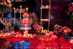 Sweet table Bollywood {1er anniversaire de My CwC}