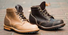 Viberg and Division Road Inc. Release a Trio of Exclusive Boots - http://hddls.co/2cgA6GC