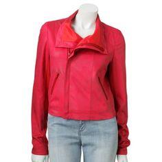 Super cheap faux-suede jacket