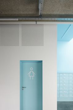 Gallery of Saldus Music and Art School / MADE arhitekti - 14 Image 14 of 37 from gallery of Saldus M Kindergarten Architecture, Kindergarten Design, School Architecture, Kindergarten Interior, Colour Architecture, Interior Architecture, Wc Public, School Signage, Toilette Design