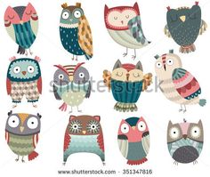 Cute Colorful Owl Patch Iron On Clothes Badges Diy Accessory New Design Heat Transfer Clothing Deco Washable Patch 1 Cute Birds, Cute Owl, Owl Illustration, Illustrations, Beautiful Owl, Owl Art, Design Elements, How To Draw Hands, Doodles