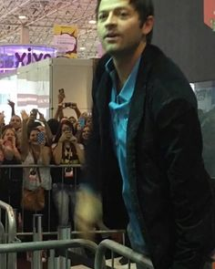 MISHA IN BRAZIL! Misha took the Grid! #mishacollins #sobrenatural #Supernatural #comiccon #ccxp #spnfamily