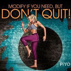 Don't quit! #Chalene
