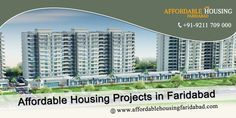 If you're looking for a house with world-class amenities at an affordable price then Affordable Housing Projects in Faridabad