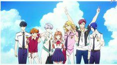Teika, Rintaro, Monet, Kohana, Louis, Kanato & Aoi (Magic Kyun! Renaissance)