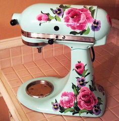 Kitchen Aid mixer decal my mom would love this so so much!!!