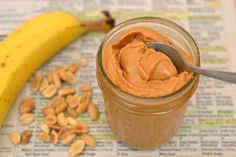 How to Make Creamy Homemade Peanut Butter - Eating Rules Pickles, Healthy Desserts, Healthy Recipes, Healthy Meals, Salsa, Homemade Peanut Butter, Unprocessed Food, Breakfast For Kids, Whole Food Recipes