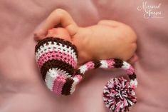 Striped Baby Hat Crochet Baby Boy Hat Crochet Baby by properbaby, $20.00