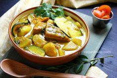 Braised Tofu and Vegetable Curry | Vegan/Vegetarian   Gluten-free Veganlovlie.com
