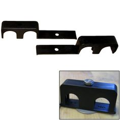 """Weld Mount Double Poly Clamp f/1/4"""" x 20 Studs - 1"""" OD - Requires 1.75"""" Stud - Qty. 25"""