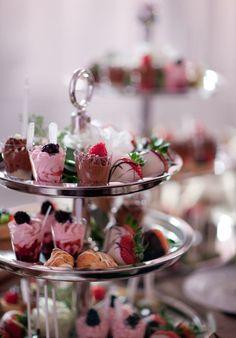 love the mini desserts!