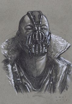 whoever created this villain, creeped me out for sure... BANE