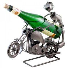 Stojan na víno Motorkár