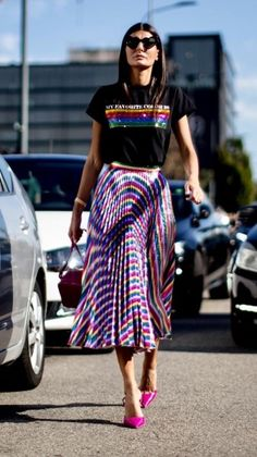 Street styles: 50 Fashion Week Street Style Looks Estilo Fashion, 50 Fashion, Look Fashion, African Fashion, Trendy Fashion, Fashion Outfits, Fashion Weeks, Trendy Style, Fashion Bloggers