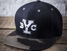 "BACKYARD CARTEL ""BYC Logo"" Strapback Cap"
