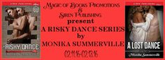 Check out the mild BDSM romance series Risky Dance by Monika Summerville                        http://padmeslibrary.blogspot.com/2016/02/risky-dance-series-by-monika-summerville.html