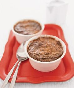 A deliciously clever way to use stale bread: chocolate bread pudding. | Plan your family menu, from appetizers to desserts, with kid-friendly recipes.