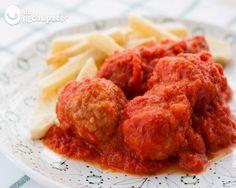 Albóndigas en salsa de tomate - caseras