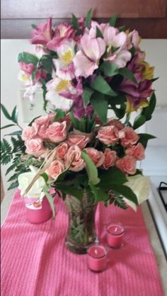 Mothers Day Flower Arrangement design By Jaime Tablas